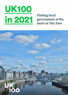 UK100 in 2021 front cover