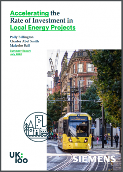 Accelerating the Rate of Investment in Local Energy Projects